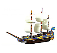 Crafted Pirate Ship To Do Home Decoration