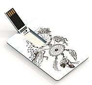 16gb tarjeta de diseño de la unidad flash usb colector ideal