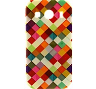 kleurrijke doos patroon TPU zachte hoes voor Samsung Galaxy Ace stijl lte g357 / ace 4 g357fz