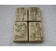 Dancers Series Kerosene Lighter Relief Style (Pattern Randomly Shipped)