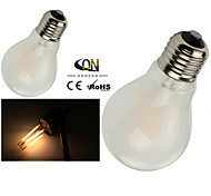 ONDENN E26/E27 4 W 4 COB 400 LM 2800-3200K K Warm White A Dimmable Globe Bulbs AC 220-240/AC 110-130 V