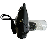 al aire libre de la cámara réflex DSLR submarina caso cubierta impermeable bolsa de 14cm largo lente