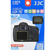 JJC ennemi de lcp-7d canon 7d revêtement de caméra de division dédiée aux rayures écran résistant à haute perméabilité