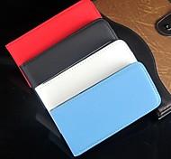 ouvrir et couleur fond plein cuir PU corps plein de protection et pour iPhone 4 / 4s (couleurs assorties)