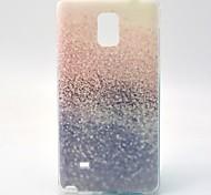 caso suave del tpu desierto para Samsung Galaxy Note 4