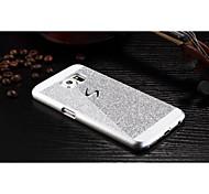 alta qualidade de alumínio brilhante luxo metal caso tampa traseira para Samsung Galaxy S6 (cores sortidas)