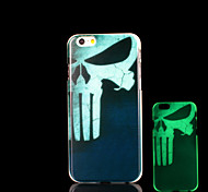 Skull Pattern Glow in the Dark Case for iPhone 6 Cover
