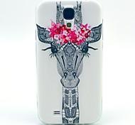 girafe modeler TPU couverture souple pour les Samsung Galaxy S i9500