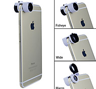 Apexel TEOG 3-in-1 Quick Change 10X Macro + Wide Angle + Fish Eye Lens for iPhone 6 & iPhone 6 Plus