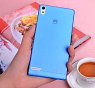 For Huawei Case Ultra-thin / Frosted Case Back Cover Case Solid Color Hard PC Huawei