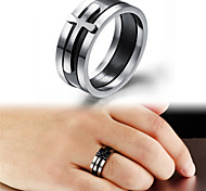 Titanium Steel Ring Band Rings Wedding/Party/Daily/Casual/Sports 1pc