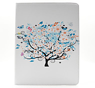The Tree Pattern PU Leather Case Cover with Stand and Card Holder for iPad 2/3/4