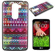 Color Decorative Pattern PC Phone Case for LG G2 mini