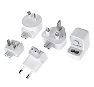 USB Charger Adapter  US Plug / EU Plug / UK Plug / AU Plug Adapter Set (100~240V)