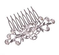 Женский Для девочек Сплав металлов Заставка-Свадьба Особые случаи На каждый день Для деловой одежды на открытом воздухе Гребни 1 шт.