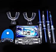 kit de blanqueo con peróxido de blanqueamiento profesional de los dientes blancos dientes en gel