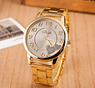 Women's Watches Fashion Peach Digital Steel Watch