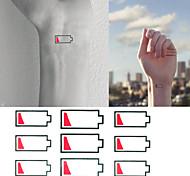 Tatuaggi adesivi - Altro Bambino/Da donna/Girl/Da uomo/Adulto/Boy/Teen - 3 - Modello - di Carta - 6*5 - Blu/Multicolore -Non