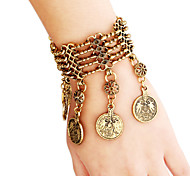Vintage / Casual Diamond Charm Bracelet
