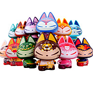 ZHUAIMAO Sumg Cat Vinyl Action Toy Figure : 12 Constellations The One Belongs to You for Car Dashboard Toy Ornament