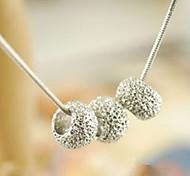 Cute Little Ball Pendant Necklace