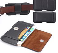 carta materiale universale pu appeso tasche laterali petrolio per iphone 5 / 5s 5c 4 / 4s