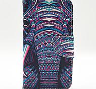 Elefantmuster die innen lackiert Karten für Samsung-Galaxie s5