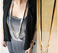 New Arrival Fashion Jewelry Multilayer Chain Necklace