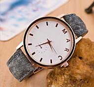 Frauen runden Zifferblatt Fall jean Uhrenmarke weisequarzuhr (mehr Farbe vorhanden)