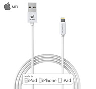 oldshark 3,3 pés (1m) mfi relâmpago certificado de sincronização USB e cabo de carga para Apple iPhone 5 / 5s / 6/6 plus / iPad mini