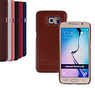 5.1 Inch Luxury PU Leather Case Back Cover for Samsung GALAXY S6