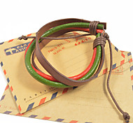 Fashion Men's Loopy Leather Bracelets 1pc