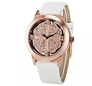 Ladies'  Wrist Watch High-Grade Good Quality Genuine Leather Belt Quartz Analog Fashion Watch Wrist Watch