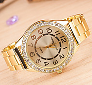 Men's Watches Europe And The Trend Of Major Suit Alloy Watch Diamond QuartzWatch