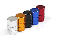 Aluminum Automotive Valve Nozzle Cap For a Variety Of Personalized Car  (Set Assorted Colors)