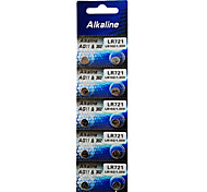 ALKALINE AG11/362/LR/SR721SW/162 High Capacity Button  Batteries (10PCS)