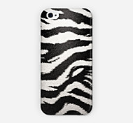 White Tiger Leopard Grain Pattern PC Phone Case Back Cover for iPhone 6 Case