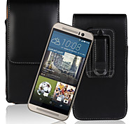 Europe and the United States fei PU Open Waist Hanged Mobile phone Set up and Down for HTC One M9