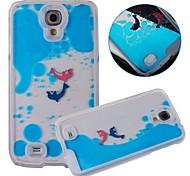 For Samsung Galaxy Case Flowing Liquid Case Back Cover Case Cartoon PC Samsung S4