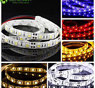 100cm 15W 60x5050SMD Warm White Cool White  Cuttable/Suitable for Vehicles/Self-adhesive DC12V