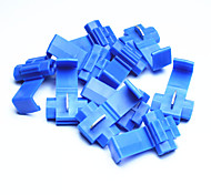 DIY   Quick Wire Connection Clip Button - Blue (10 PCS)
