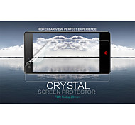 cristal nillkin filme protetor de tela anti-impressão digital clara para nubia z9mini