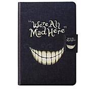 visage souriant modèle en cuir de de cas complète du corps avec support et la fente de carte pour le Kindle d'Amazon paperwhite /