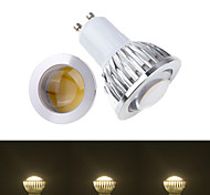 Faretti 1 COB Ding Yao GU10 9 W 50-150 LM Bianco caldo/Luce fredda 1 pezzo AC 85-265 V