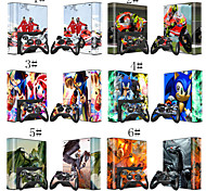 Cute/Cool /Ice Age/ Cartoon Skin Decal Sticker for Xbox 360 E Console & Controlers