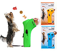 Pet Treat Launcher Dog Cat Unique Petz Treat Launcher Interactive Fun (Random Color)