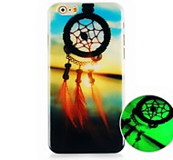 Dreamcatcher Pattern Luminous Hard Back Cover Case for iPhone6
