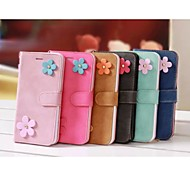Matte Two Flower With Stand Holster  for IPhone 6(Assorted Colors)