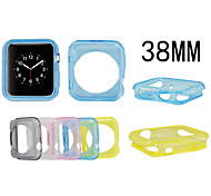 Colorful TPU Protective Sleeve for Apple Watch 38 MM(Assorted Colors)