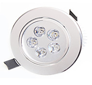 HESION Downlight de LED Decorativa 5 W 450-550lm LM K Branco Quente / Branco Natural 5 LED de Alta Potência 1 pç AC 85-265 V